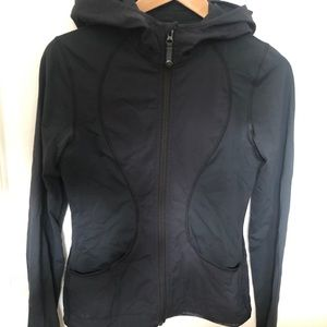 Lululemon zipped lightweight althletic jacket